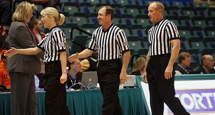 Doing an exchange, a chance to break stereotypes - referees