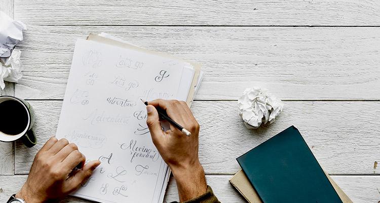 Intercambios profesionales: oficina digital y taller de caligrafía (Portada)