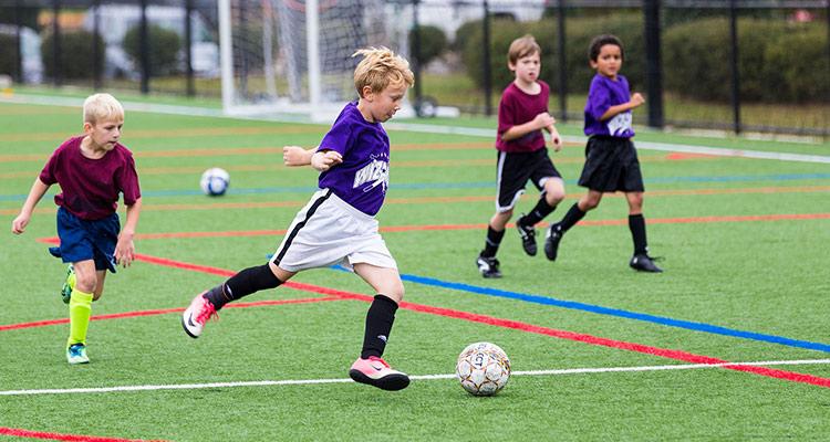 Intercambio entre escuelas de fútbol - Equipo infantil