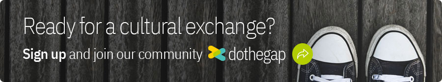 Ready for a cultural exchange, sign up and join our community