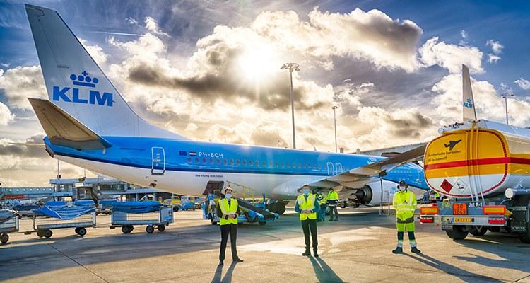 Queremos volar de nuevo: KLM, Premio Diamante en Seguridad Sanitaria - Avión