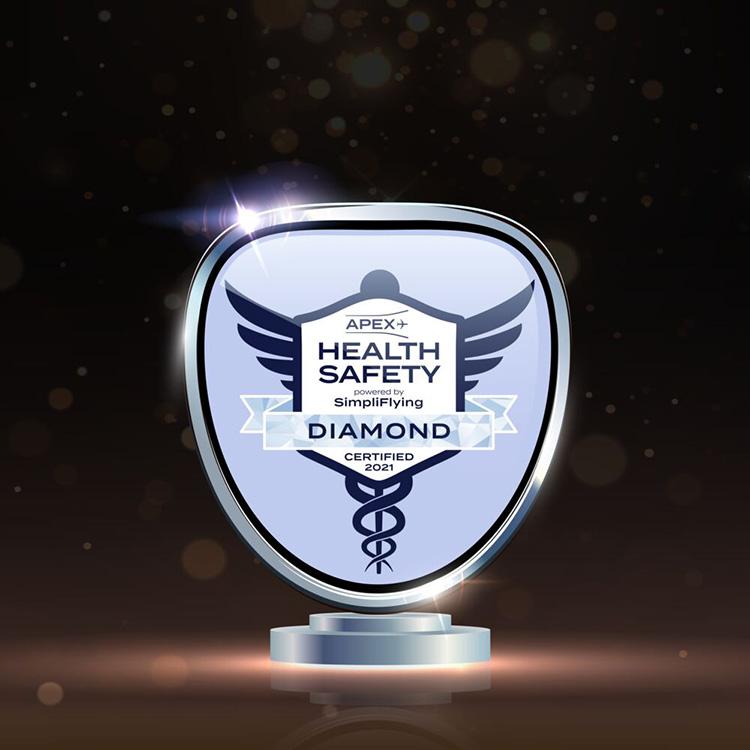 Queremos volar de nuevo: KLM, Premio Diamante en Seguridad Sanitaria - Premio