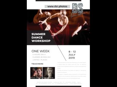DANSASOLSONA INTERNATIONAL SUMMER WORKSHOP 2019 €10