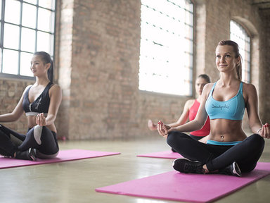 Immerse yourself in the harmony and balance of yoga and pilates at the Madrid centre €1